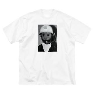 三タネ事件Tシャツ Big silhouette T-shirts