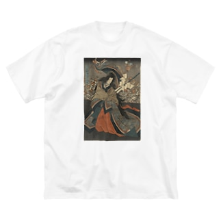玉藻前Tシャツ Big silhouette T-shirts