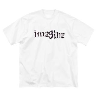 imagineオリジナルT Big silhouette T-shirts