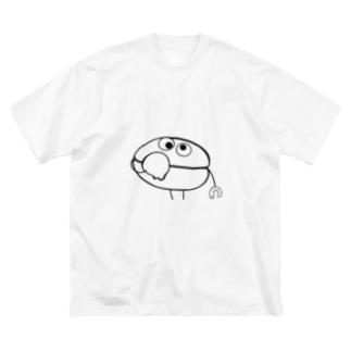 ▼▲こーひーゾンビーんず▲▼ THOMAS&JACK [BLACK] Big silhouette T-shirts
