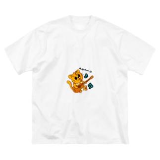 やんちゃなぺぇ助 Big silhouette T-shirts