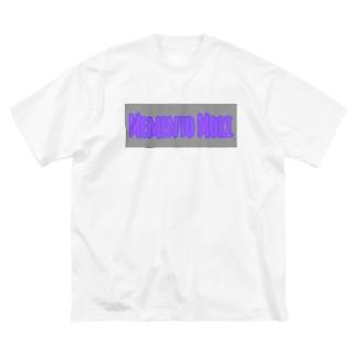 メメント・モリ ロゴ プリント ビックシルエットT Big silhouette T-shirts