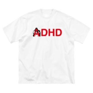 ADHD T-shirt Big silhouette T-shirts