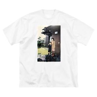 バチ決まり Big silhouette T-shirts