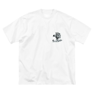 To Dom Seventh.(ツードムセブンス) グッズ Big silhouette T-shirts