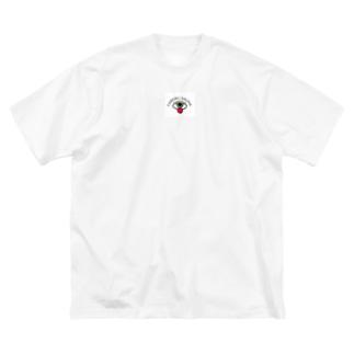 ベロトリップ Big silhouette T-shirts