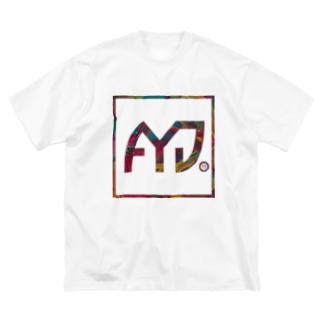 A11yourDaysのAYDボックスロゴ Big silhouette T-shirts