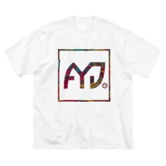 AYDボックスロゴ Big silhouette T-shirts