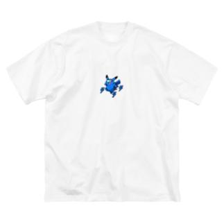 ⚡️Blue Thunder Rat⚡️ Big silhouette T-shirts