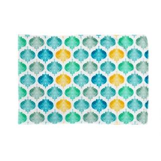 モロッコタイル風アート Blankets