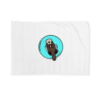 他力本願らっこ Blankets