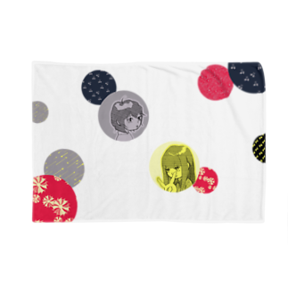 ウチノコノニワのミカチビ Blankets