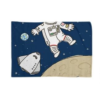 なりきり宇宙飛行士 Blankets