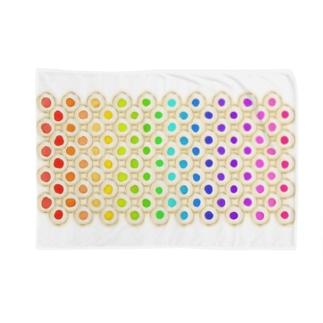 カラフルな目玉焼き Blankets