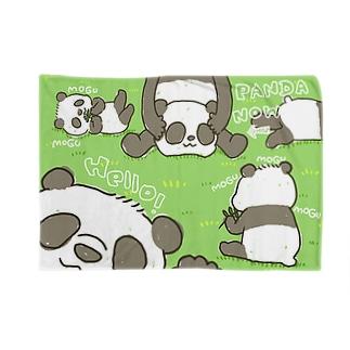 なりきりパンダ Blankets