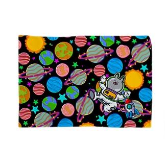 宇宙飛行士ぴょん丸 Blankets