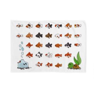 金魚さん大集合 Blankets
