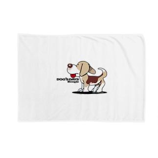 川野隆司のビーグル犬 Blankets