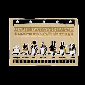 yukaのとーとつにエジプト神 お座り7柱 Blankets