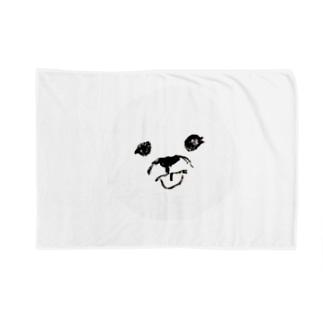 ビションフリーゼ(舌出し) Blankets