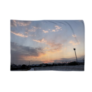 matsunomiの雪の日の朝焼け Blankets