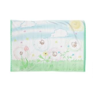 はち太郎「春」 Blankets
