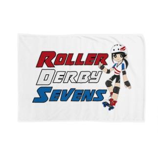 Roller Derby Sevens Blankets