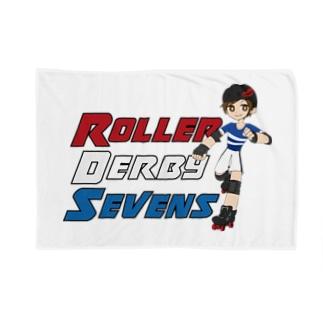 Roller Derby Sevens (Nanasuke) Blankets