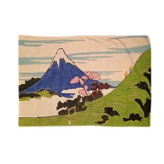 神道の光の中の浮世絵の精神:Spirit of Ukiyo-e in the Light of Shinto Blankets