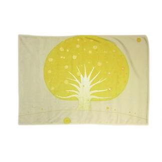「太陽も月も沈まない場所、宇宙ノ樹」 Blankets