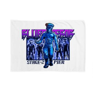 BLUE Emperorシンジ Blankets
