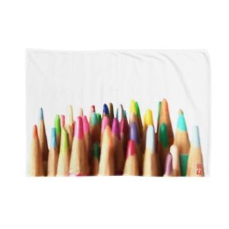 色鉛筆 Blankets