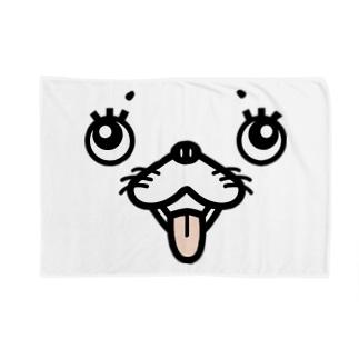 犬顔 Blankets
