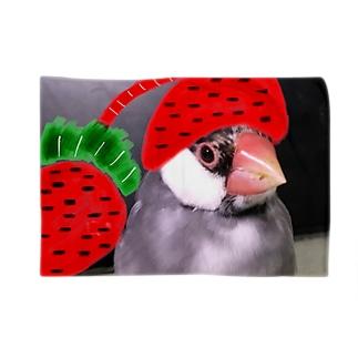 つばちんの苺のナイトキャップ Blankets