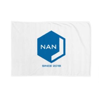 NANJCOIN公式ロゴ入り ブランケット
