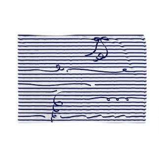 Navy Stripes ブランケット