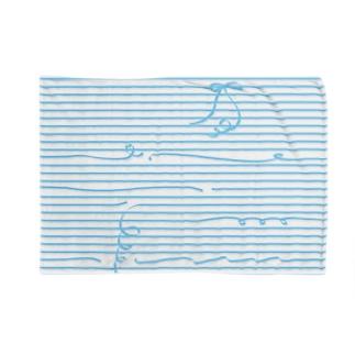 Blue Stripes ブランケット