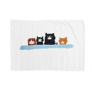 不機嫌な猫 Blankets