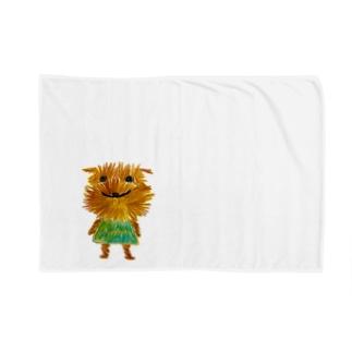ボサボサ Blankets