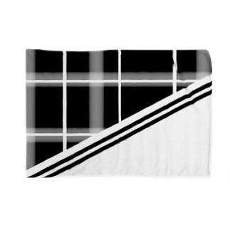 Monochrome Check Blankets