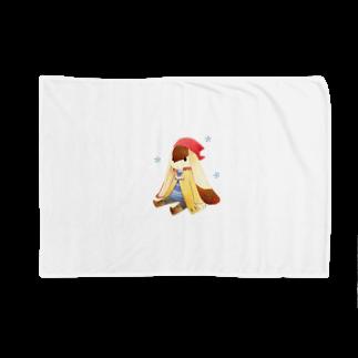 Tea Drop Sのおすわり Blankets