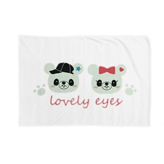 lovely eyes  Blankets