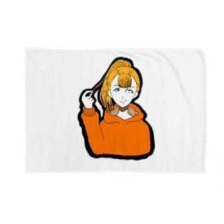 ポニテ Blankets