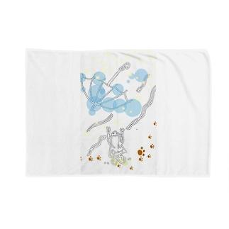 とばされた傘 Blankets