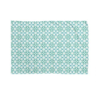 アクアブルー(こどもペンギン) Blankets