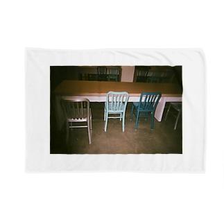 chair ブランケット