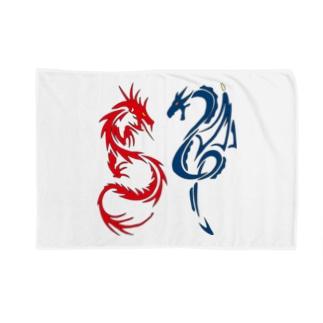 赤い龍・青い竜! Blankets