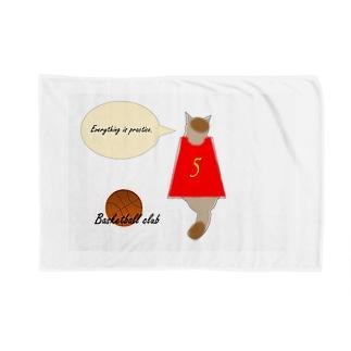 バスケ部 トラ猫 Blankets