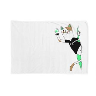 パンクキャット【アイガス】 Blankets