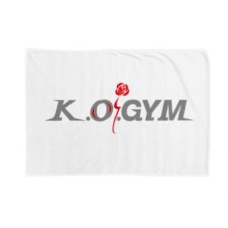 K.O.GYM Blankets